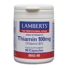 Thiamin 100mg lamberts healthcare uk