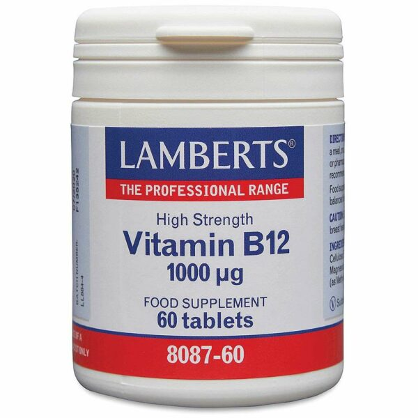 Vitamin B12 1000ug lamberts healthcare uk
