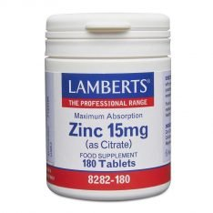 Zinc 15mg 90s lamberts healthcare uk