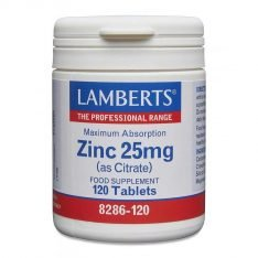 Zinc 25mg (as Citrate) lamberts healthcare uk
