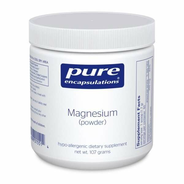 Magnesium (powder) pure encapsulations uk