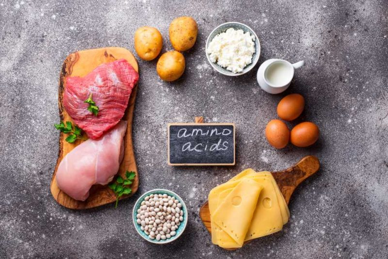 amino acids in food products