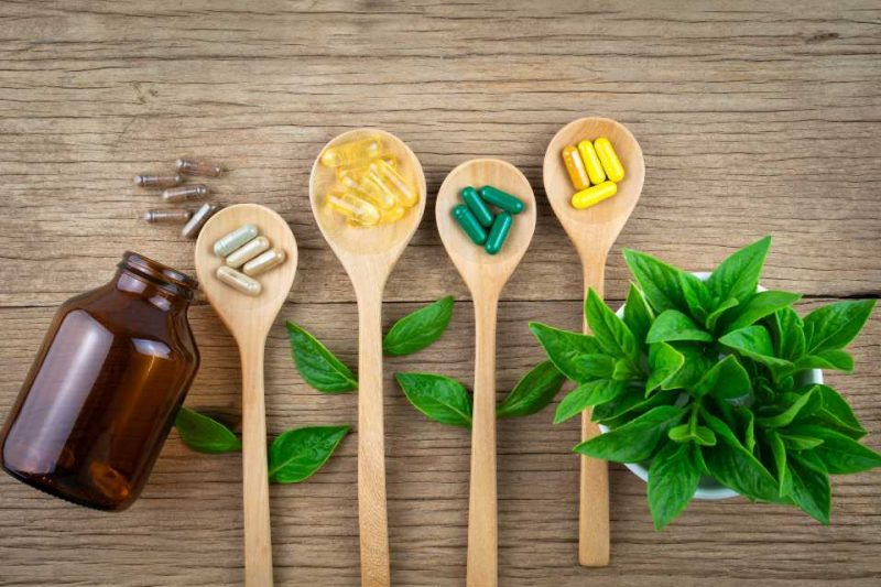 vitamins and supplements in food