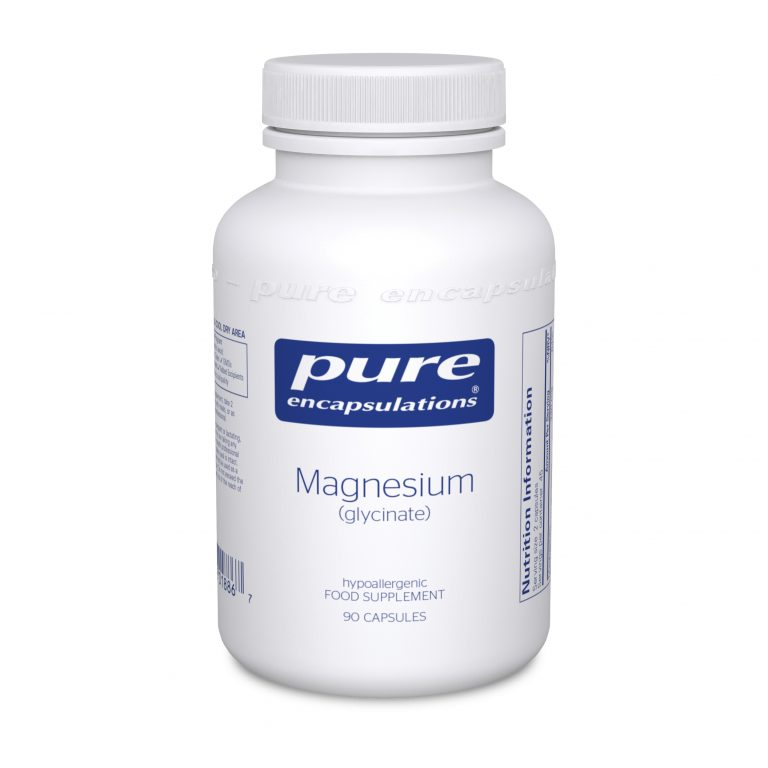 Magnesium (glycinate) from Pure encapsulations UK