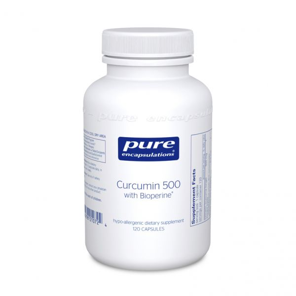 Curcumin 500 with Bioperine