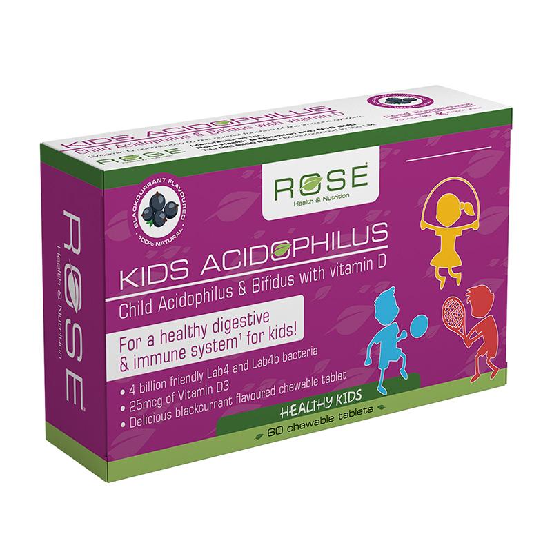 Kids Acidophilus with Vitamin D 60t image